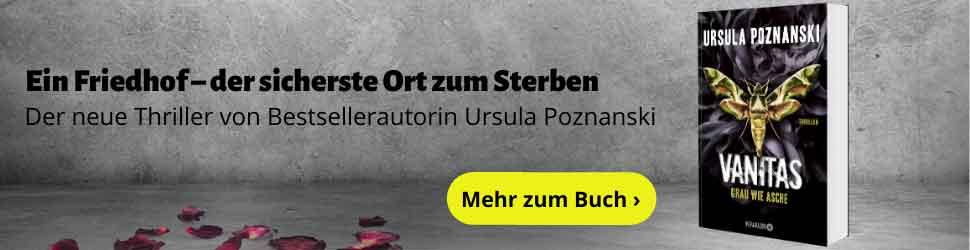 Ursula Poznanski - VANITAS - Grau wie Asche