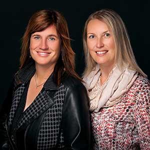 Christiane Omasreiter und Kathrin Scheck