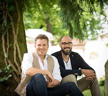 Michael Kobr und Volker Klüpfel