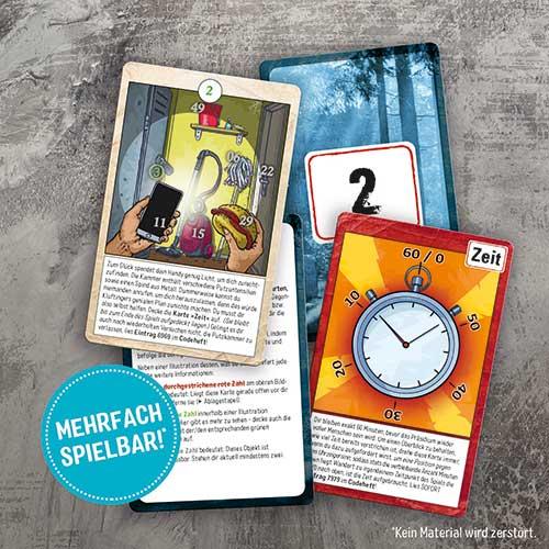 Spielkarten von »Kluftinger in Gefahr!«