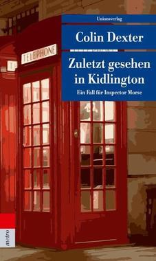 Cover von: Zuletzt gesehen in Kidlington