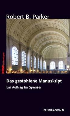 Cover von: Spenser und das gestohlene Manuskript