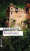 Cover von: Burgfrieden
