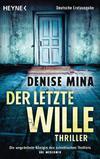 Cover von: Der letzte Wille