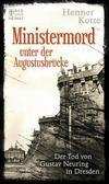 Cover von: Ministermord unter der Augustbrücke